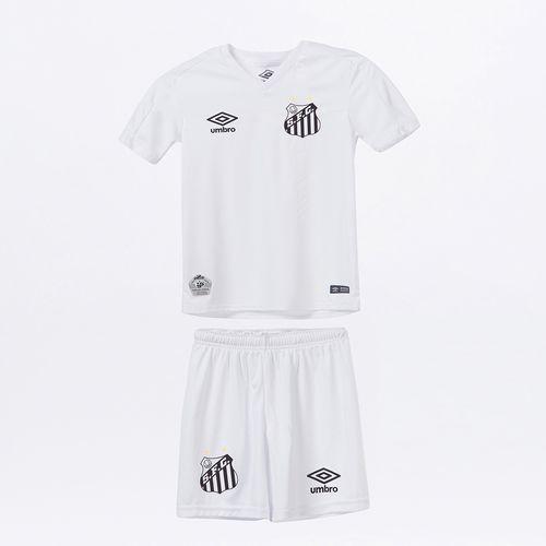 Kit Clube Infantil Umbro Santos Of.1 2019