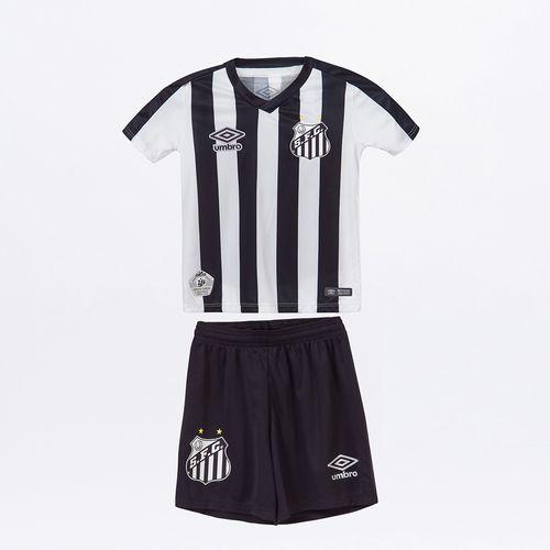 Kit Clube Infantil Umbro Santos Of.2 2019