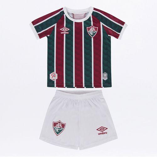 Kit Clube Infantil Umbro Fluminense Of.1 2020