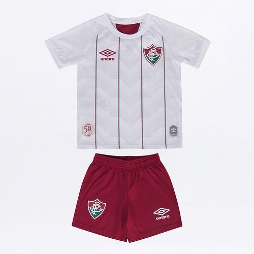 Kit Clube Infantil Umbro Fluminense Of.2 2020