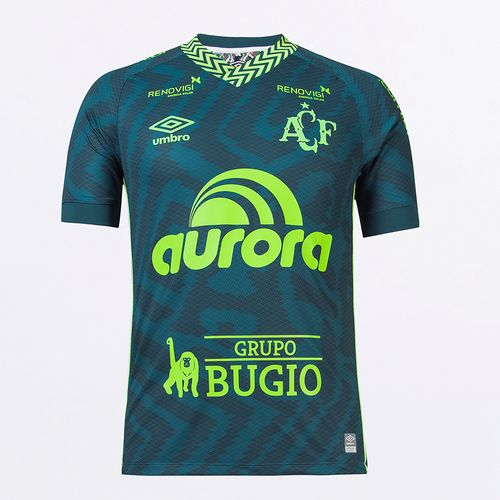 Camisa Masculina Umbro Chapecoense Of.3 2021 (Atleta S/N)