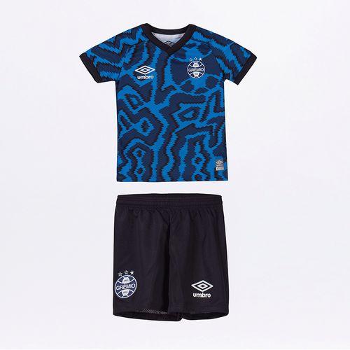 Kit Clube Infantil Umbro Gremio Of.3 2021