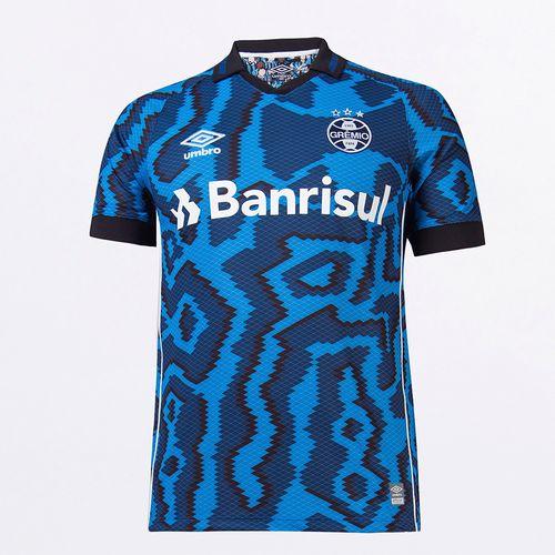 Camisa Masculina Umbro Gremio Of.3 2021 (Classic S/N)