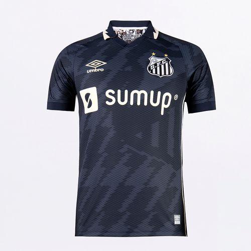 Camisa Masculina Umbro Santos Of.3 2021 (Classic S/N)