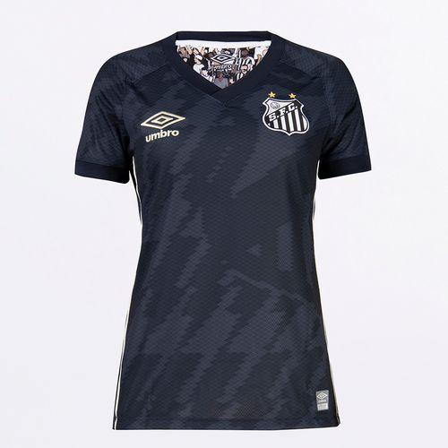 Camisa Feminina Umbro Santos Of.3 2021