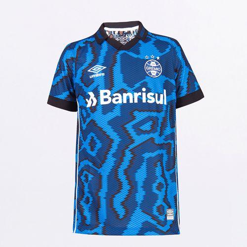 Camisa Junior Umbro Gremio Of.3 2021