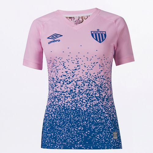 Camisa Feminina Umbro Avai Outubro Rosa 2021