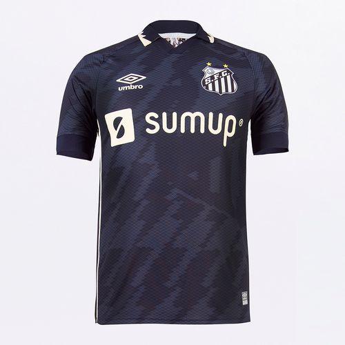 Camisa Masculina Umbro Santos Of.3 2021 (Atleta S/N)